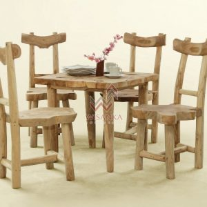 Reclaimed tawang dining set